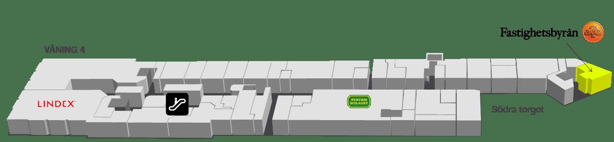 Butikskarta Fastighetsbyrån