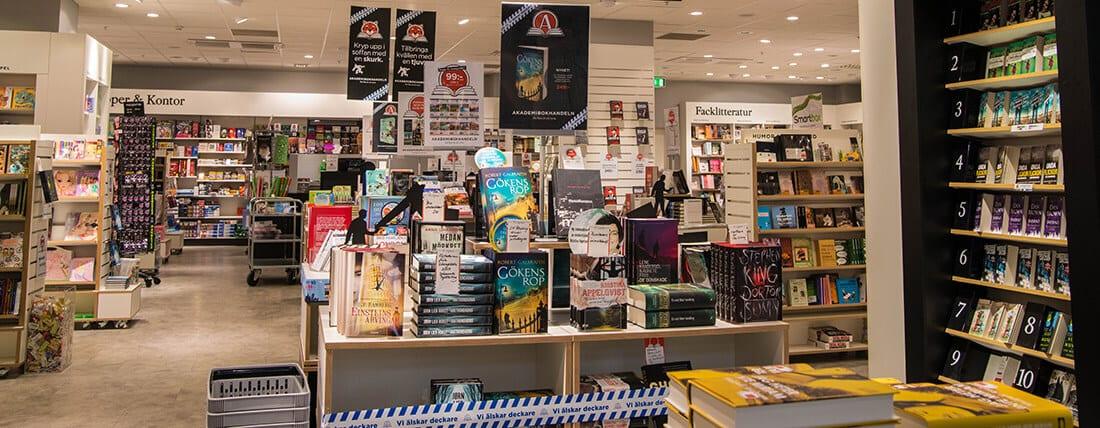 akademibokhandeln stockholm