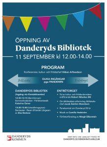 öppning av Danderdyds Bibliotek